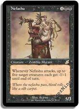 1 FOIL Nefashu - Black Scourge Mtg Magic Rare 1x x1