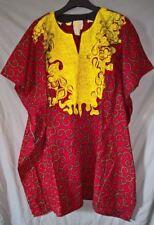 Stunning Traditional African Senator Style Hitarged Dress - size XL