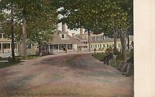 Home Store, Guard House and Company I in Togus ME Postcard