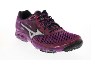 Mizuno Wave Hayate 2 FCLR554B68 Womens Purple Mesh Athletic Running Shoes 8