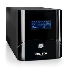 UPS 2000VA Gruppo Di Continuità Vultech Con Lcd  UPS2000VA-PRO Line Interactive