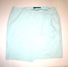 New Mynt 1792 High End Plus Womens 24W 24 W Mint Green Skirt Office Light Ruffle