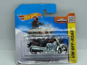 "Harley Davidson "" Fat Boy  "" ☆ Hotwheels ☆ ovp"