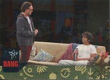 Big Bang Theory Seasons 6 & 7 Silver Parallel Base Card #29 Surf and Turf