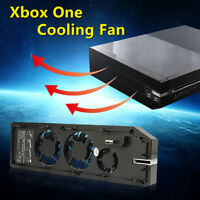 Cooling Fan 2USB Exhauster Intercooler For Microsoft Xbox One Console