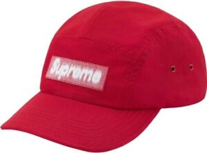 Reversed Label Camp Cap Supreme