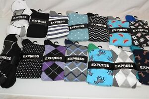 Express - Dress Socks Men's L Large 8-12 New with Tags - Choose your Style