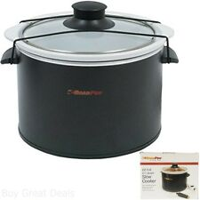 12 Volts Car Electric Slow Multi Rice Cooker Cookware Glass Lid Travel Brand New