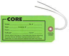 Core Tag Green With Wires - Auto Part Core Tags 250 Tags Per Box