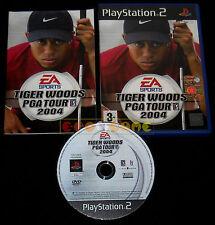 TIGER WOODS PGA TOUR 2004 Ps2 Versione Inglese 1ª Edizione ••••• COMPLETO