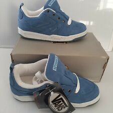 Vintage Vans Cara Beth II Burnside Sky Blue Womens Shoes Sz 8 Suede Skater RARE