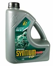 Petronas Syntium 4 SP 10W-40 4-Stroke Synthetic Motorcycle Oil 4 Litre