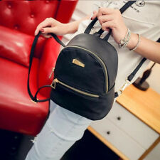 New Fashion Girls Faux Leather Mini Backpack Handbag School Rucksack Bag Noted