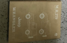 1987 1988 JEEP WRANGLER MR 279 YJ Service Shop Repair Manual Factory OEM