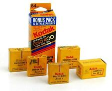 Vintage Kodak One Roll Gold 400 Film & Series V Portra Lens Adapters Filters