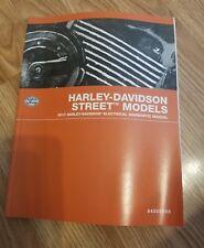 Harley Davidson Street Models 2017 Electrical Diagnostic Manual