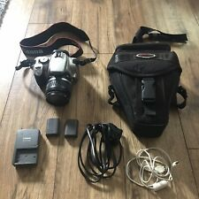 Canon EOS 400D 10.1 MP Digital SLR Camera Silver with EF-S 18-55mm Lens+ Extras
