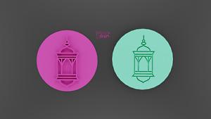 Islamic lantern embosser,cookie stamp,Islamic stamp,Ramadan cookie stamp