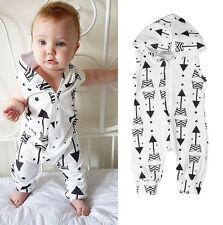 AUStock Newborn Infant Baby Boy Girl Kid Romper Jumpsuit Bodysuit Clothes Outfit