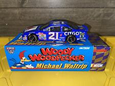 1998 michael waltrip 21 woody woodpecker 1:24 Nascar diecast Ford Taurus