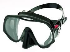 Atomic Frameless UltraClear Dive Mask, FreeDiving Scuba Snorkeling Meduim Black