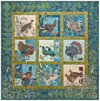 Fields End McKenna Ryan Pine Needles Bird Quilt Individual Patterns CHOOSE BIRD