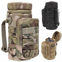 MOLLE Military Army Cadet Modular Tactical EDC Water Bottle Canteen Pouch Holder
