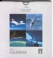 CALENDARIO 2004 CONCORDE COMMEMORATING COMMERCIAL SUPERSONIC FLIGHT