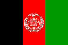Premium Quality 5Ft X 3Ft 5'X3' Flag Afghanistan Post 2004