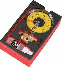 Silca Super Pista Ultimate 60psi Low Pressure Gauge Yellow