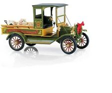 1:16 Franklin Mint Green Red Ford Model T Christmas Truck # 35 of 2500 - B11E850
