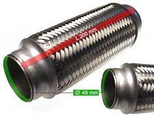 Auspuff Hosenrohr Katalysator Flexrohr Ø 45 x 200 Länge (mm)