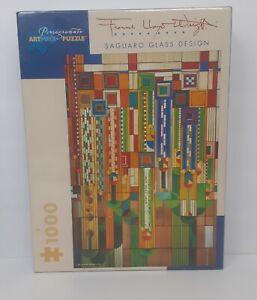 Pomegranate Artpiece 1000 Piece Puzzle Frank Lloyd Wright Saguaro Glass Design
