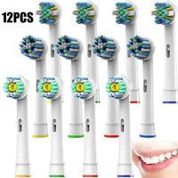 12pc Reemplazo cabeza cepillo de dientes eléctrico 25A 50A 18A para Braun Oral B