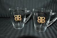 Baileys Original Irish Cream Whiskey Glasses Coffee Mugs Cups SET OF 2
