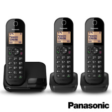 PANASONIC KX-TGC41 DIGITAL CORDLESS TELEPHONE W/ NUISANCE BLOCK SINGLE TWIN TRIO