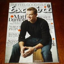 ESQUIRE Magazine 2011 2012 Issues