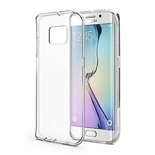 Pour Samsung Galaxy S6 Edge plus - Coque Etui Gel Silicone Tpu Transparent