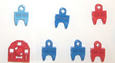 LEGO Technic Hero Factory Bionicle Red Light Blue Ball Socket Joint 32172 32174