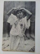 carte postale Afrique jeune fille Mauresque