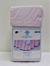 New Simply Shabby Chic King Size Bedskirt Rachel Ashwell Blush Pink 15 Drop