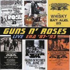 "GUNS'N ROSES ""LIVE ERA 87-93"" 2 CD NEU"