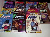 11 Issues Antic Atari Magazine Volume 5 (1-11) 1986-1987