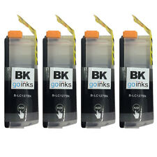 4 Black XL Ink Cartridges for Brother DCP-J4110DW, MFC-J4510DW, MFC-J4710DW