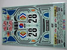 Tamiya Sticker bag for 58168 Alpine A110 (1425457) Original sticker vintage