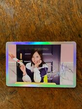 "K-Pop Twice Mina photocard from Signal ""C"" version"