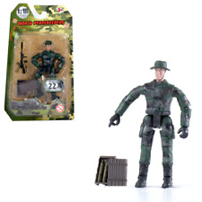 World Peacekeepers Single Military Army Toy Figure Assorted  - 1:18 Scale