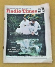 Radio Veces Nov 16-22 1968 Al Norte de Inglaterra BBC2 Color Anuncios