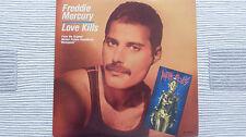 "Freddie Mercury - Love Kills UK 12"""
