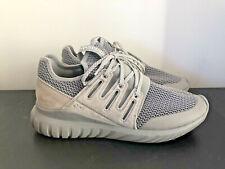 Adidas Tubular Radial Melange Suede Primeknit Sneaker Shoe Size US 8 UK 7.5